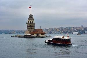 Kiz Kulesi in İstanbul